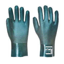 Dwuwarstwowe rękawice z PCV 27cm