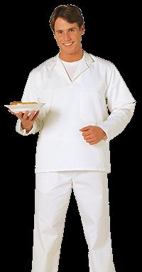 Bluza piekarza z długimi rękawami