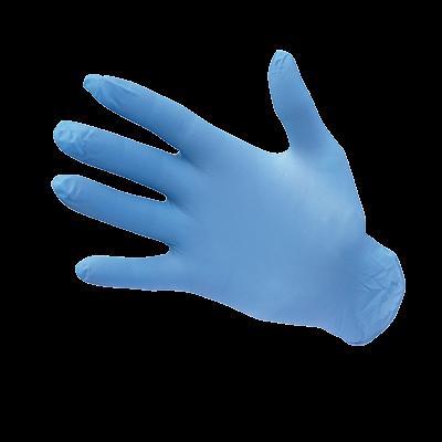 Jednorazowe rękawice nitrylowe niepudrowane