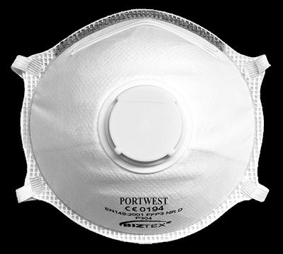 Półmaska FFP3 Dolomite Light Cup z zaworkiem