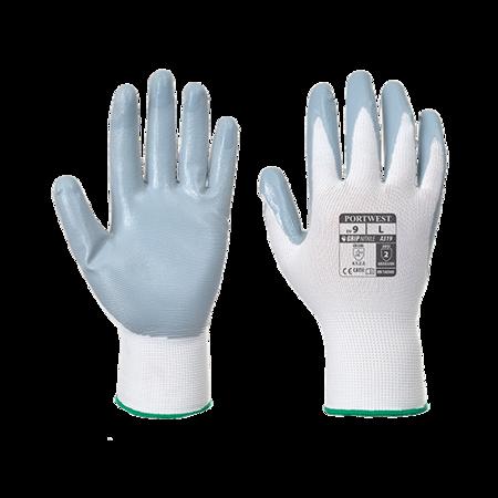 Rękawica Flexo Grip powlekana nitrylem w opakowaniu detalicznym