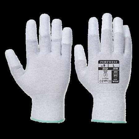 Rękawica antystatyczna z palcami powlekanymi PU