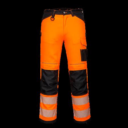 Spodnie robocze ostrzegawcze PW3