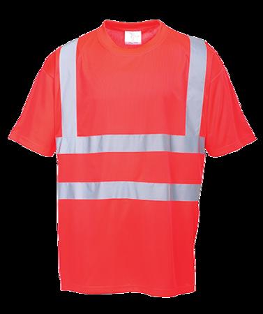 T-shirt ostrzegawczy